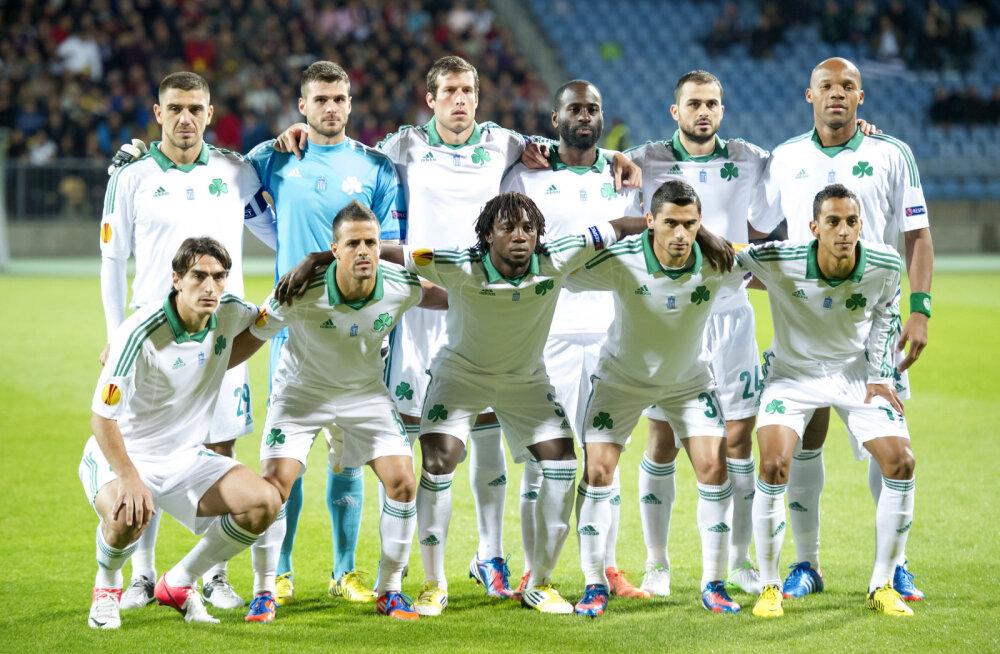 UEFA eemaldas Panathinaikose kolmeks aastaks eurosarjadest