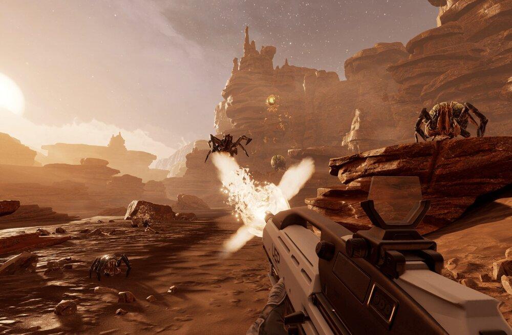 M Kuubis vaatleb videomängu: Farpoint (PSVR) – kaugel-kaugel galaktikas... oli püss laadimata