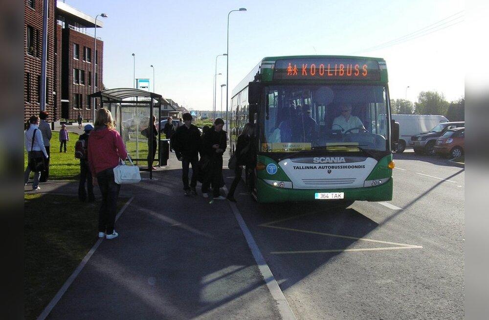 Alates 1. septembrist alustavad tööd koolibussid