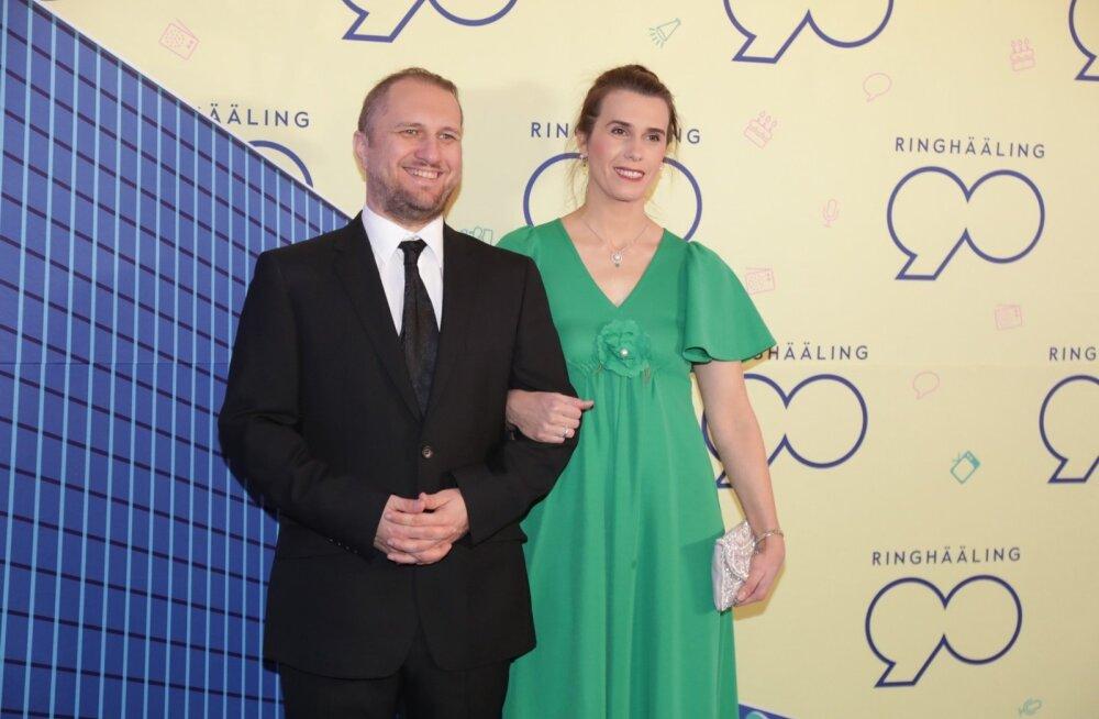 Abielukriis sai seljatatud: Kristo Rajasaare on abikaasaga taas koos