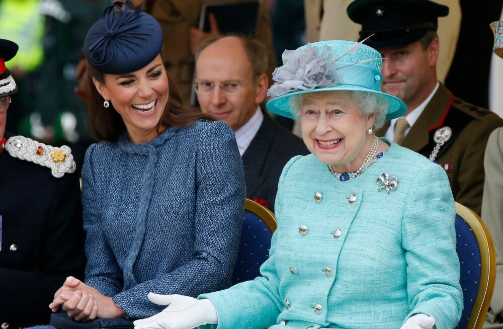 Hertsoginna Catherine ja kuninganna Elizabeth