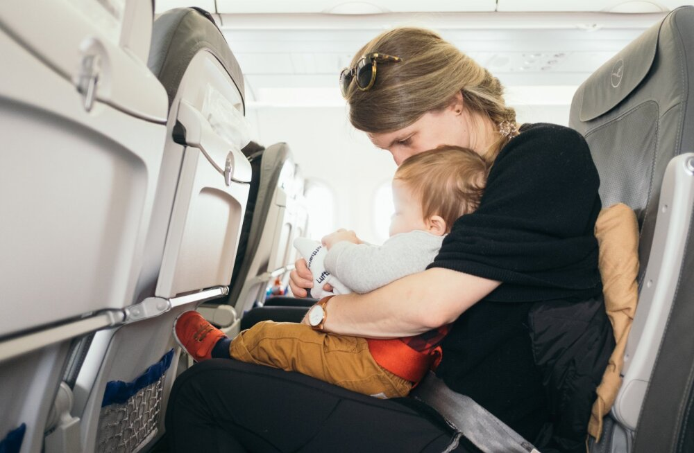 Ei meeldi pidev nutujoru? Üks lennufirma näitab piletite broneerimisel, millistel istekohtadel asuvad beebid