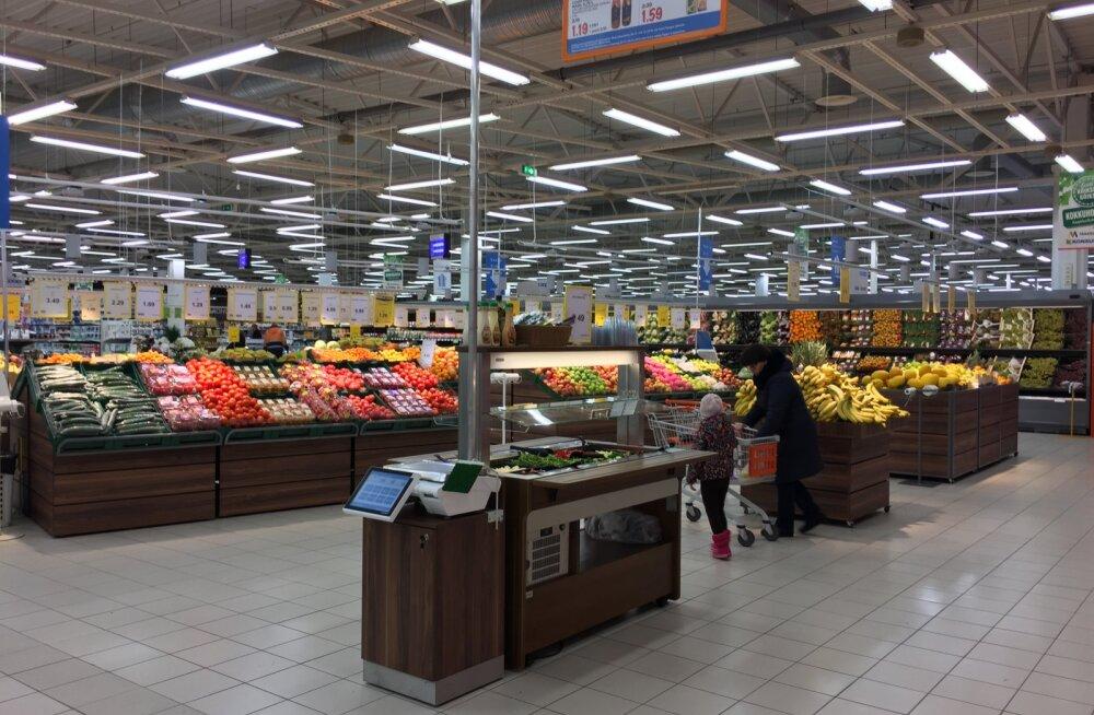 FOTOD: Coop avas uue kontseptsiooniga hüpermarketi