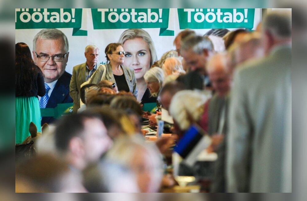 Keskerakonna XV kongressile oodatakse 1092 delegaati, partei esimehe kandidaate saab esitada novembris
