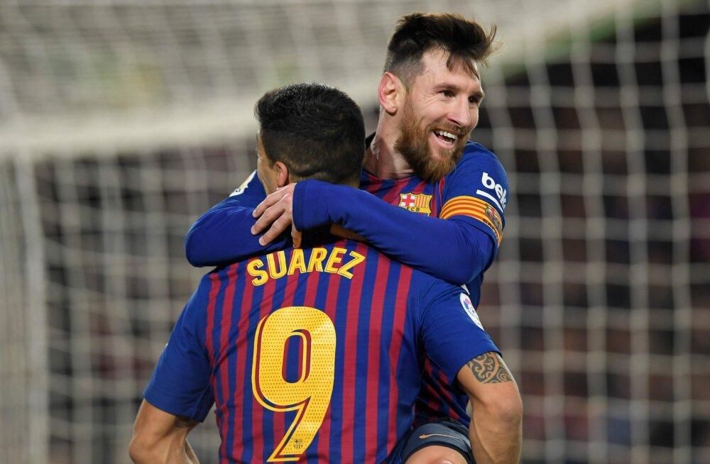 Lionel Messi ja Luis Suarez
