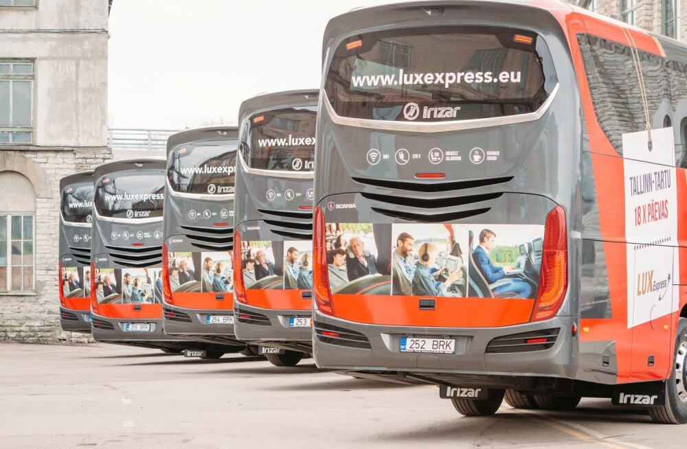 Lux Express Lounge bussid