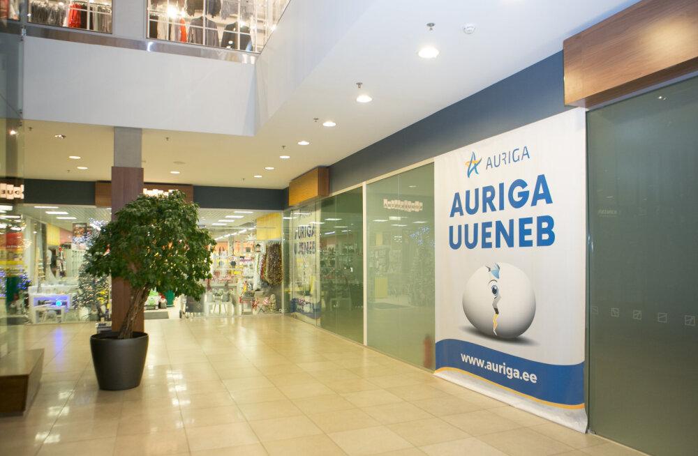MEIE MAA | Aurigas avab uksed Apollo kauplus