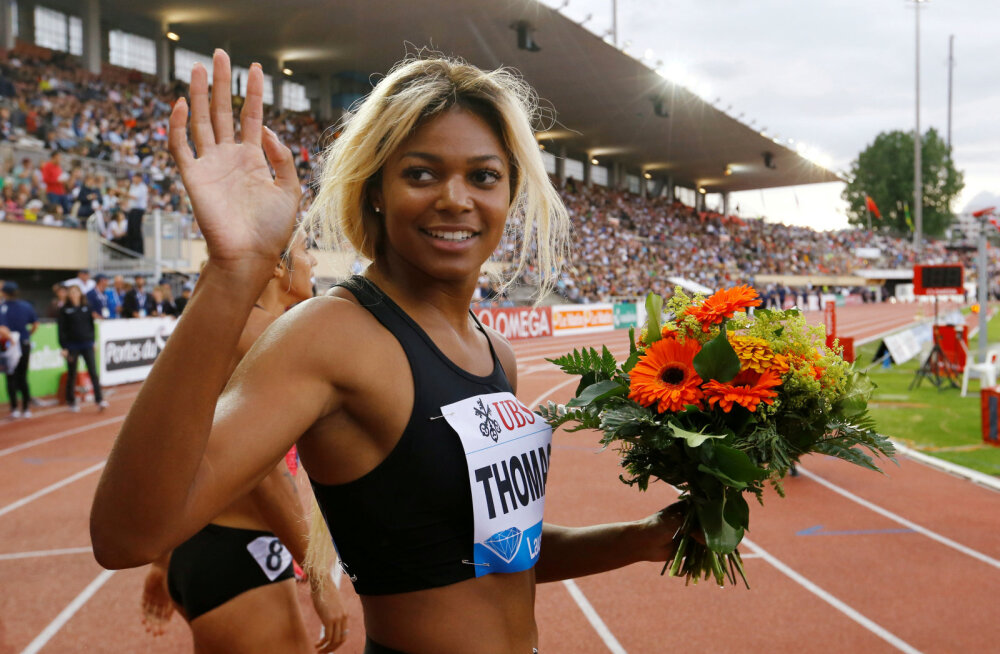 Kaks USA tippsprinterit said dopinguküttide vältimise ees ajutise võistluskeelu