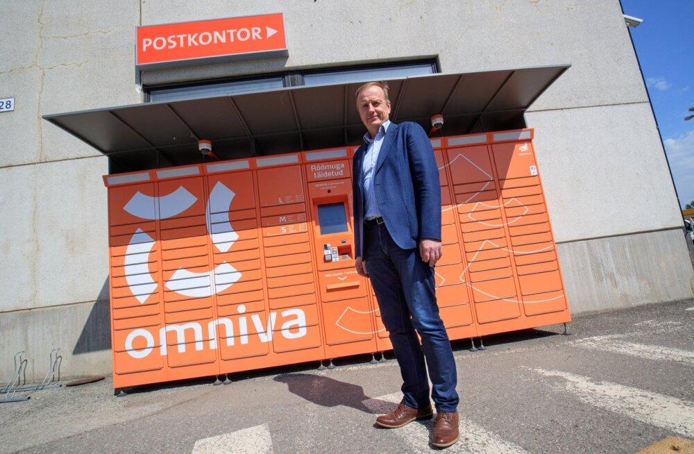 Omniva juhatuse liige Andre Veskimeister märkis, et pakiautomaat ei haigestu ega võta puhkust.