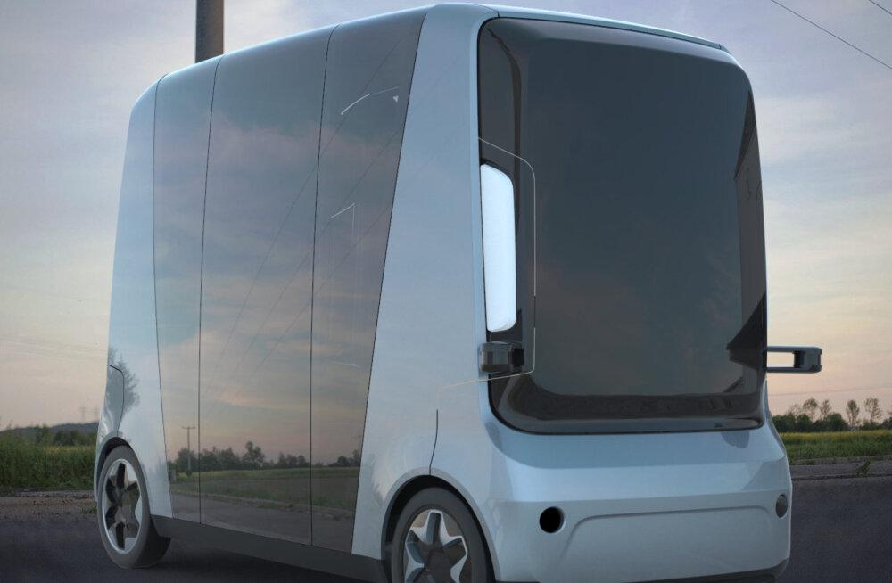 Eesti esimene isejuhtiv buss sobib ka Tallinna tänavatel sõitma