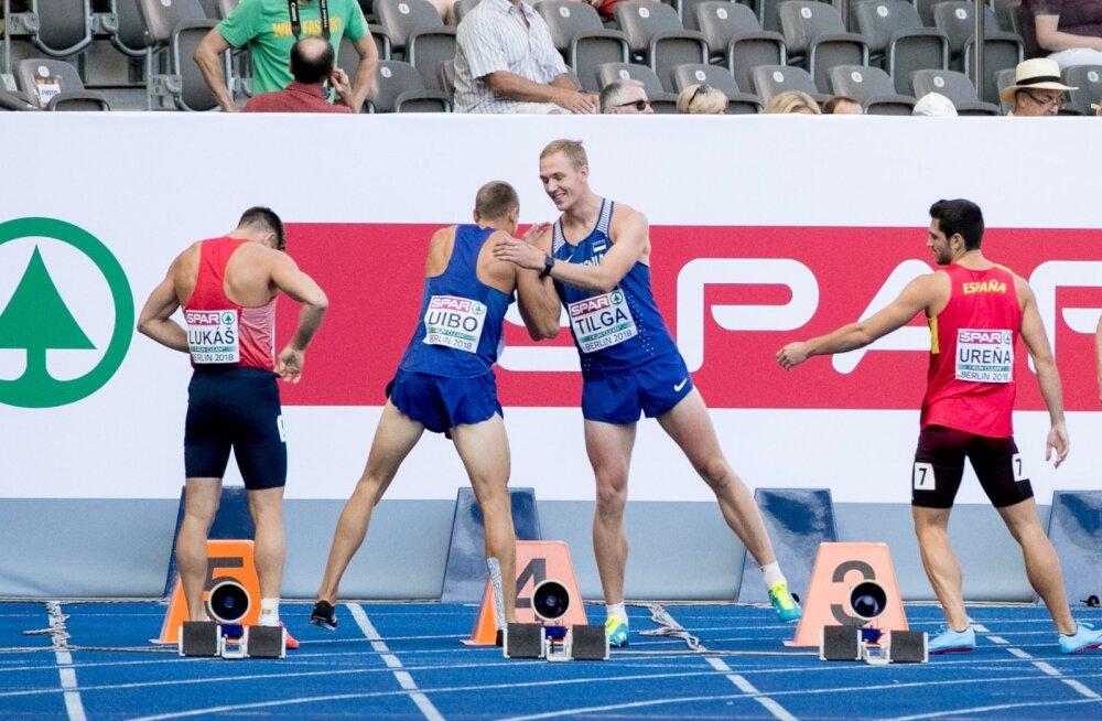 Maicel Uibo ja Karel Tilga soovimas Berliini EM-il teineteisele edu. Uibo koht on ka olümpiakoondises kindel, Tilga peab sinna saamiseks kellegi välja puksima.