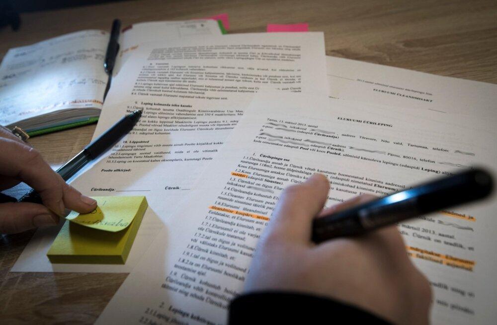 Üürilepingut sõlmides tasub ka pisiasjad põhjalikult läbi mõelda ja kirjalikult fikseerida.