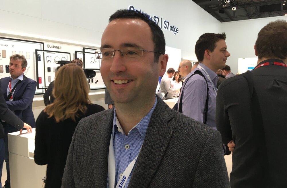 FORTE INTERVJUU: Samsung Electronicsi Euroopa brändiala asepresident Rory O'Neill räägib sellest, mida Samsung tahab ja kuhu pürgib