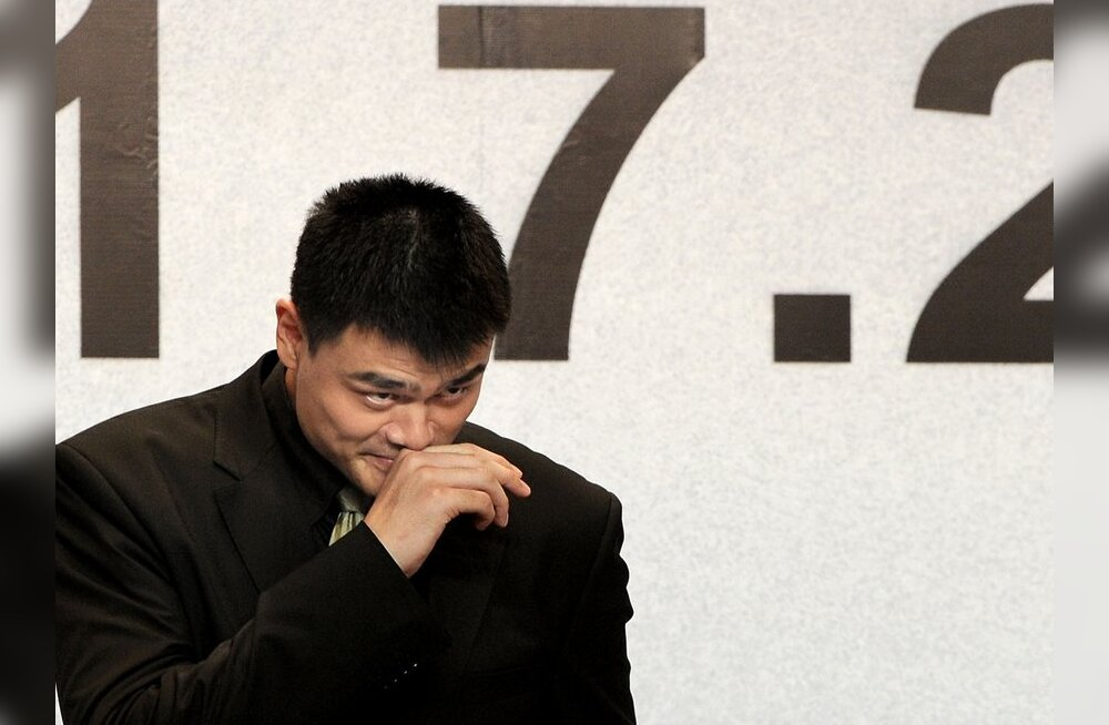 VIDEO: Yao Ming jättis korvpalliga hüvasti