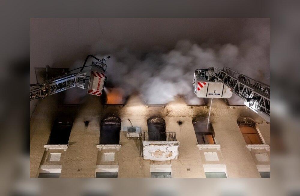 """Tulekahjus Moskva kesklinna """"tähtede majas"""" hukkus seitse inimest"""