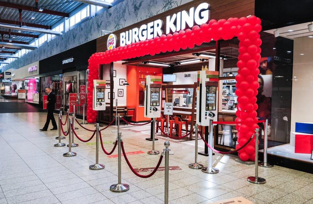 Tartu Lõunakeskuse Burger King on suletud