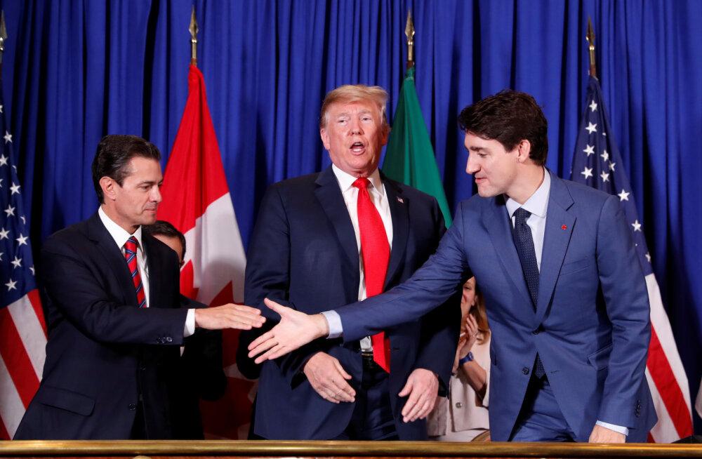 USA, Mehhiko ja Kanada allkirjastasid uue kaubandusleppe