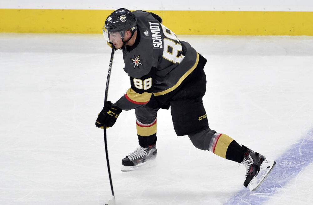 Kevadel NHL-i finaalis mänginud USA hokimees sai dopingu eest 20-mängulise keelu