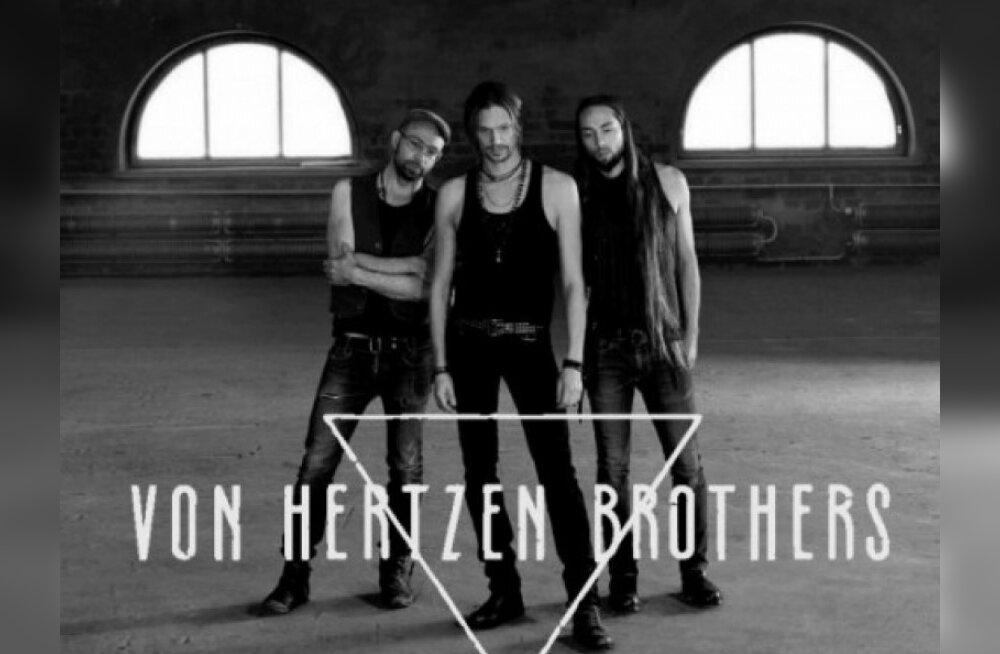 Von Hertzen Brothers annab Eestis kontserdi
