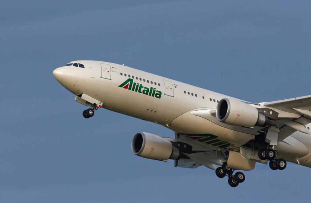 Itaalia lennukompanii palub taas pankrotikaitset