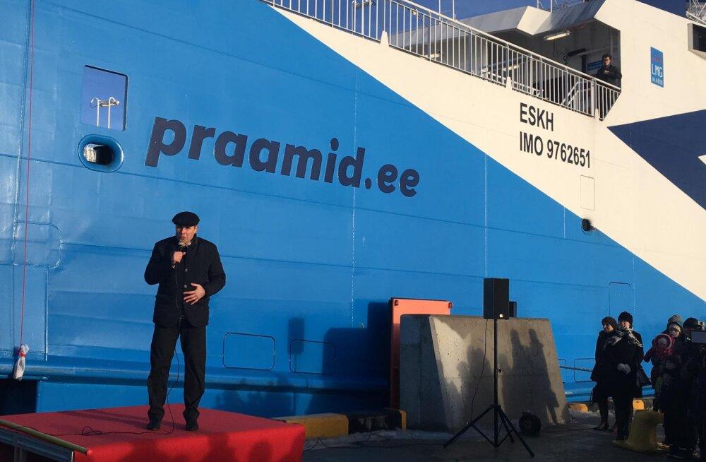 PILDID: TS Laevade teine uus parvlaev sai täna ametlikult nime