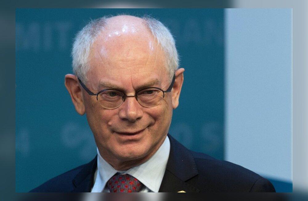 Euroopa Liidu ekspresident Van Rompuy saab kaasa 630 000 eurot valutuks tavaellu naasmiseks