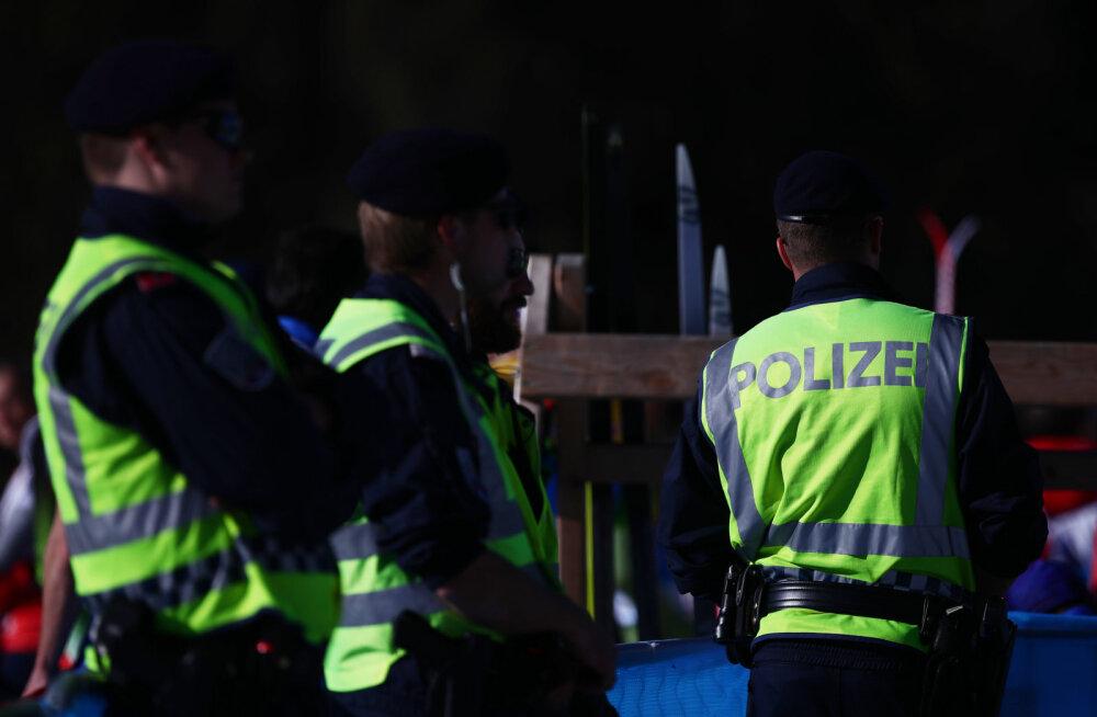 Politseinikud Seefeldi MMil
