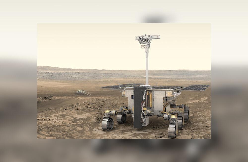 ESA otsustas lõpuks, kuhu nad oma 2020. aasta marsikulguri saadavad