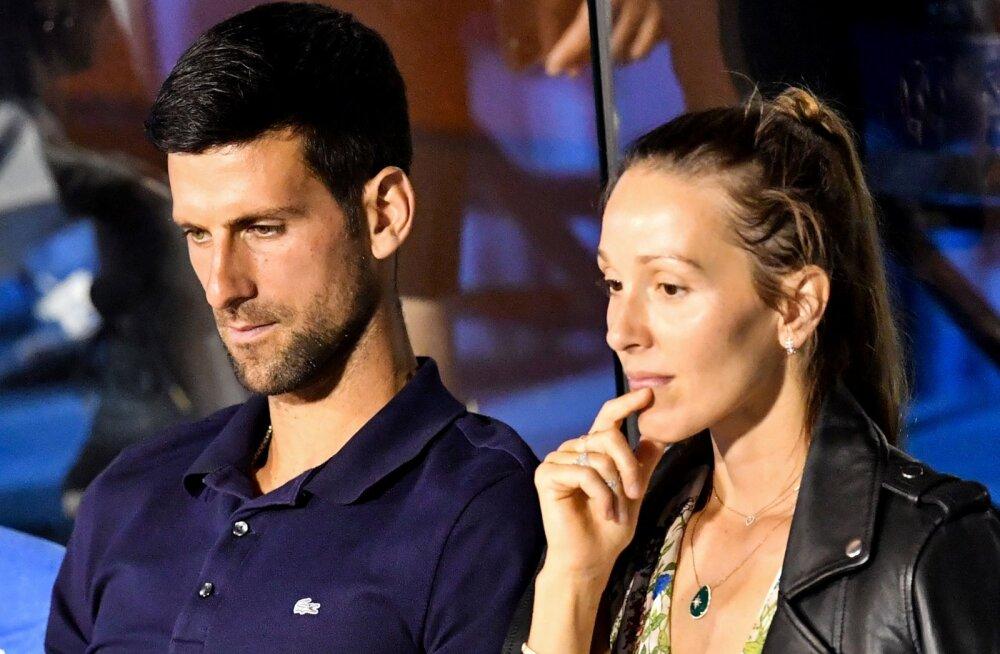 Djokovic ja ta naine seljatasid koroonaviiruse