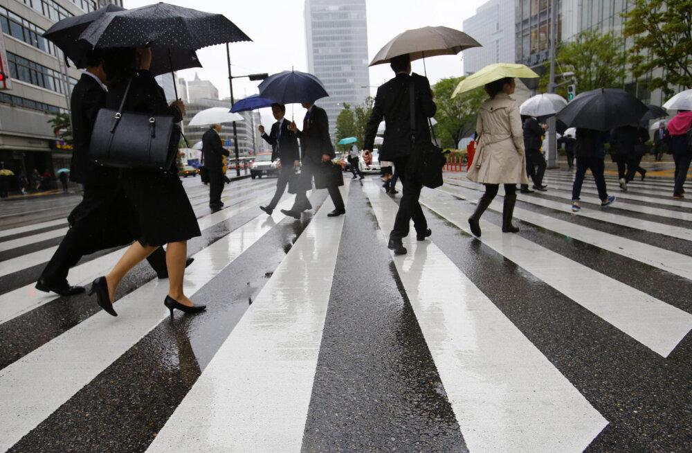 Eestlane Tokyos: jaapanlased ei näita Põhja-Korea hirmu välja