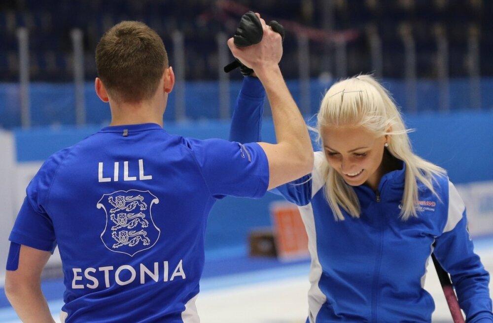 Marie Turmann ja Harri Lill.