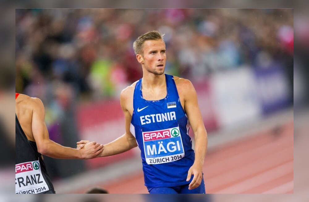 Rasmus Mägi finaaljooks ja autasustamine