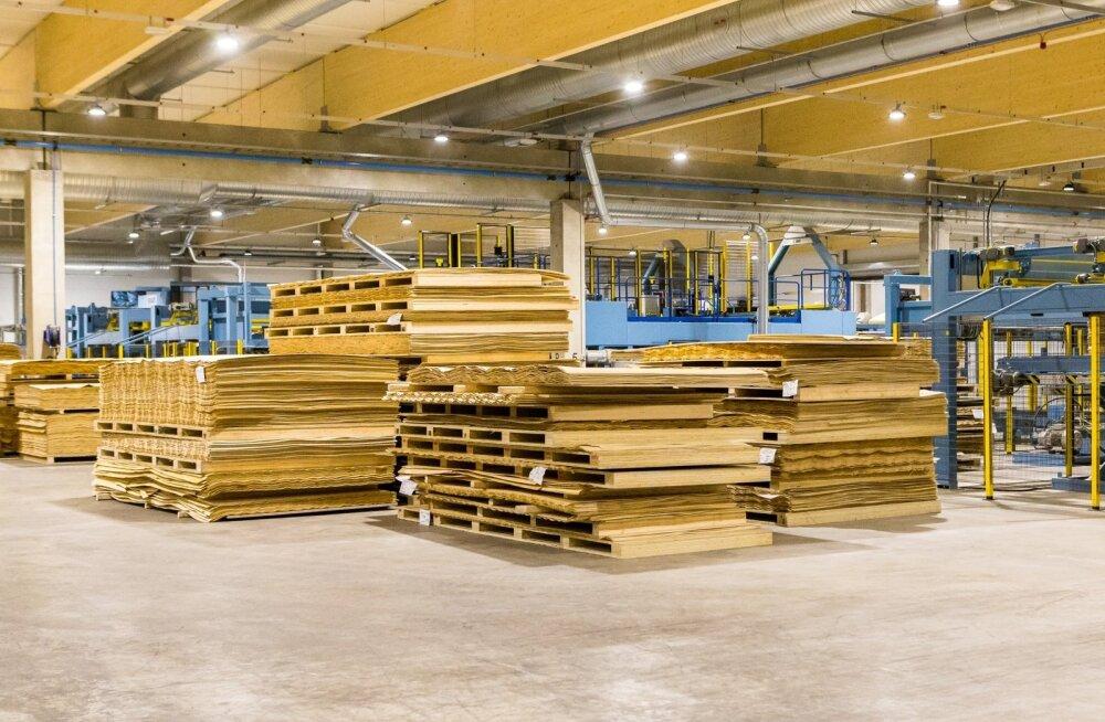 Metsä Wood Pärnu tehas