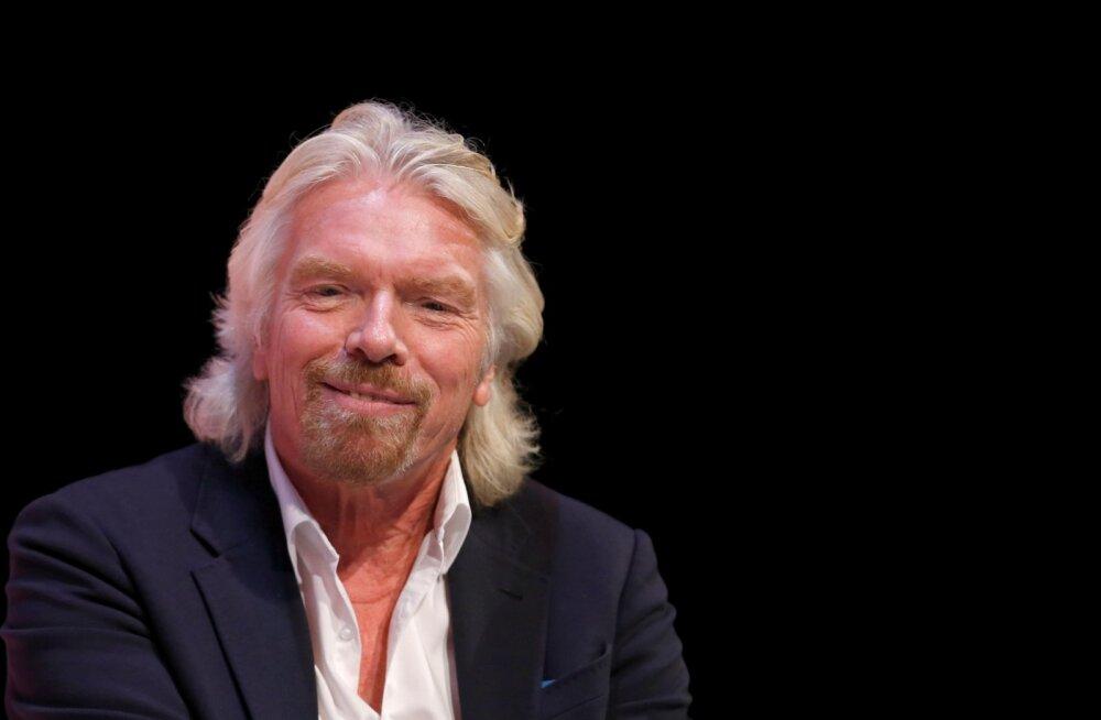 Petised liikvel. Richard Branson hammustas skeemi läbi, tema tuttav paraku mitte