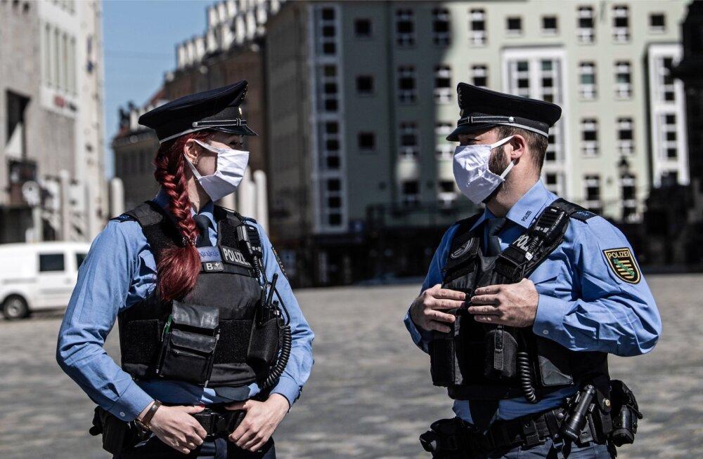 Dresdeni politseinikud.
