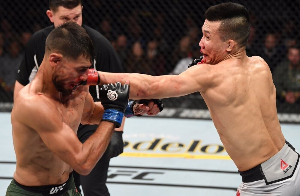 Yair Rodriguez vs Chan Sung Jung