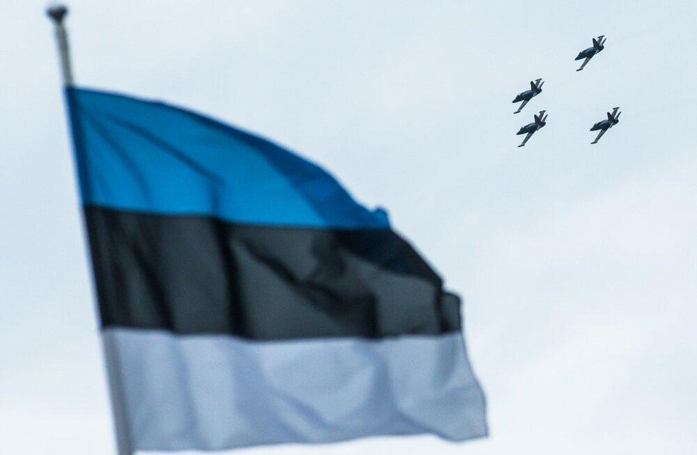 Eestit asus 2004. aastal NATO partnerite kaitsva tiiva alla.