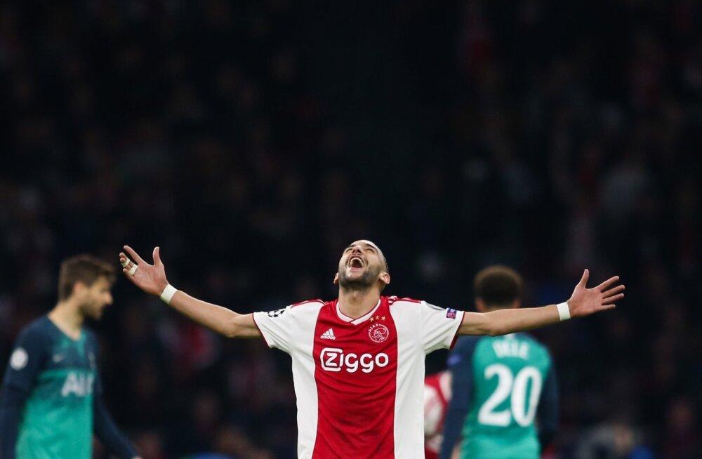 Hakim Ziyech lõi kolmapäeval Ajaxi teise värava. Tabamuseni jõudis ta pärast päikese loojumist ehk olukorras, kus ta oli saanud energiavarusid juba täiendada.