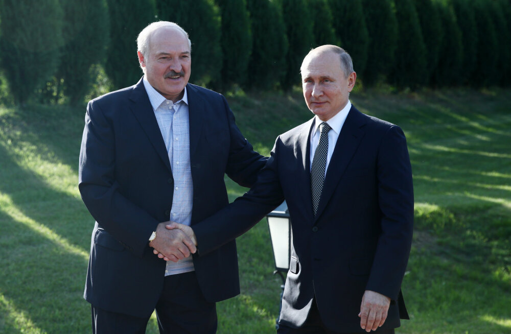Lukašenka: Vene-Valgevene liidulepingut ei lõhuta, aga jutt ei käi ühe teise koosseisu minemisest