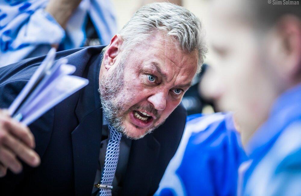 Tartu Ülikooli peatreener Priit Vene