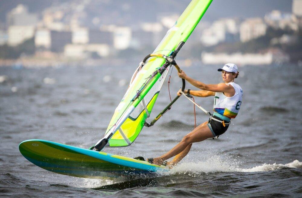 Ingrid Puusta Rio olümpialahel.