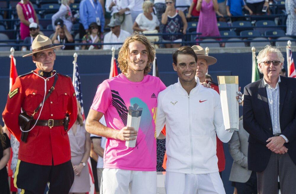 Ajalugu teinud noore kreeklase imeline teekond Torontos lõppes finaalis Rafael Nadali vastu