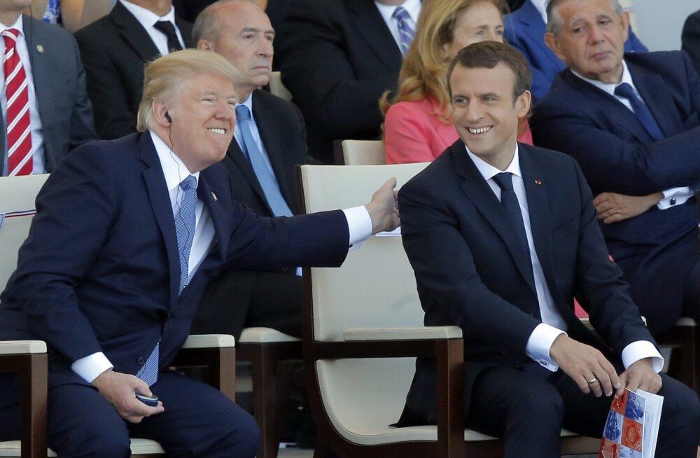 President Trump tahab musklit näidata: USA-s tulekul suur sõjaväeparaad