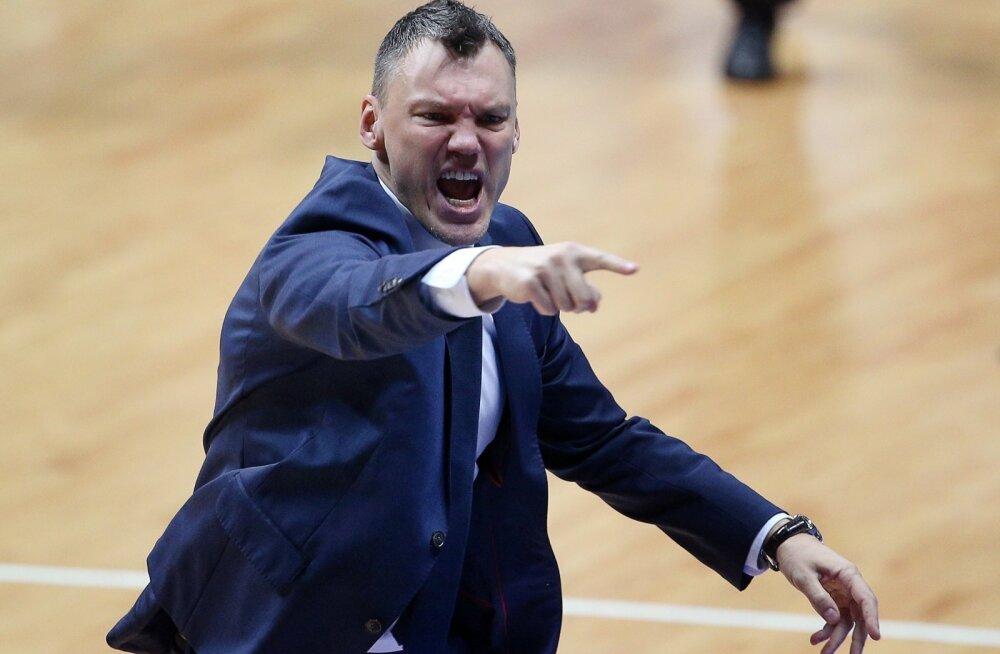 Kaunase Žalgirise peatreener Šarunas Jašikevicius.