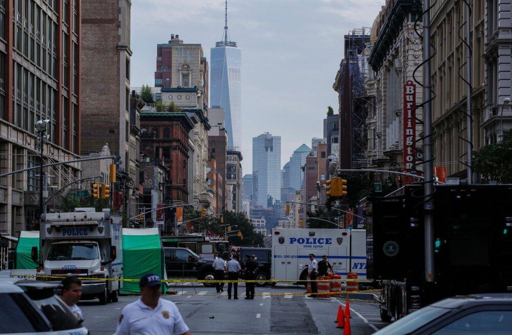 ГЛАВНОЕ ЗА ВЫХОДНЫЕ: Взрывы в Нью-Йорке и Испании, аварийная посадка самолета airBaltic и выборы в Госдуму