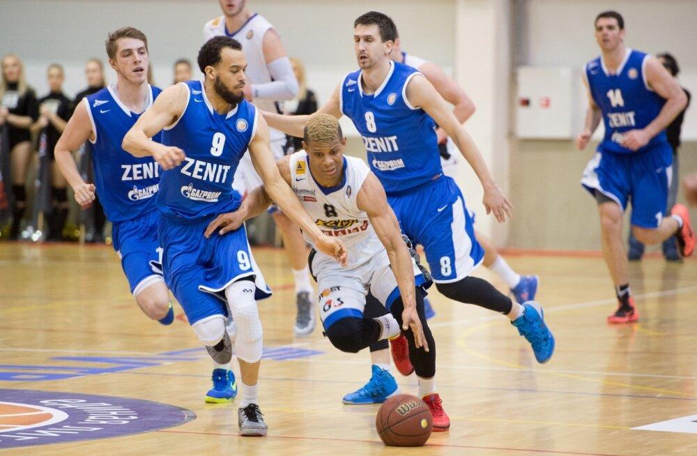 Korvpall Kalev Cramo vs Zenit