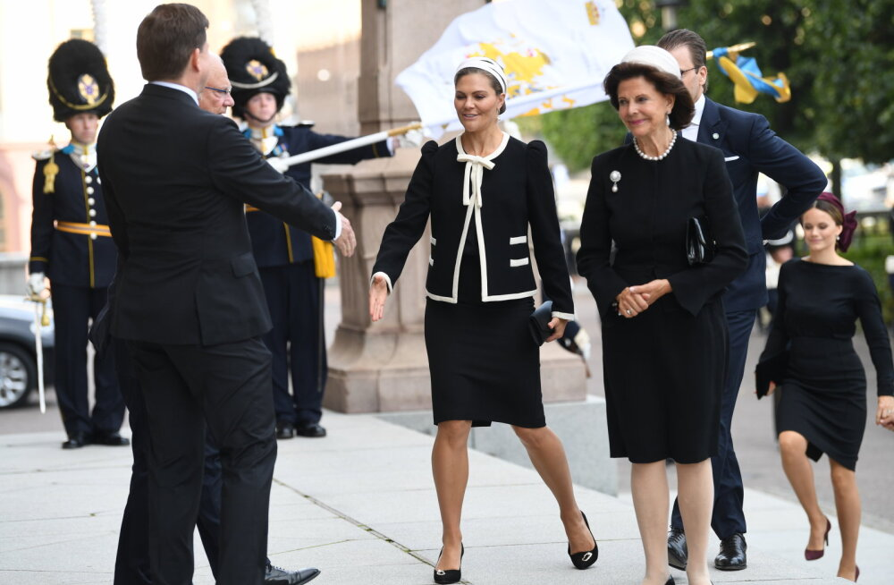 VIDEO | Rootsi pritsess Victoria ja kuninganna Silvia jäid parlamendi avaistungil magama