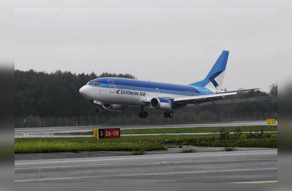 Estonian Air корректирует расписание рейсов из Таллинна в Москву и обратно