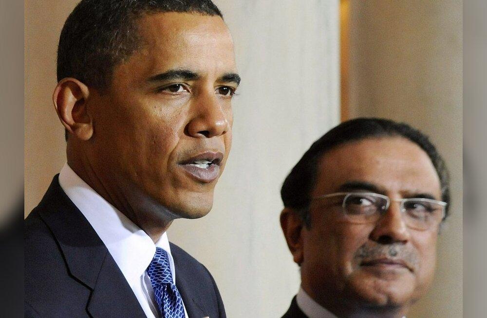 Pakistani president: meie riik on maailma suurim terrorismi ohver