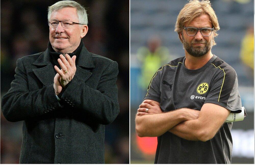 Sir Alex Ferguson ja Jürgen Klopp